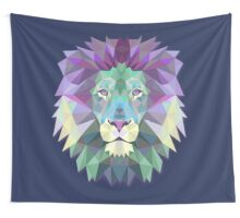 LION THE WISE Wall Tapestry