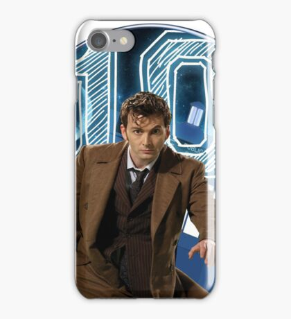 Doctor 10th  iPhone Case/Skin