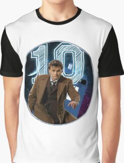 Doctor 10th  Graphic T-Shirt