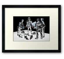 How many Cybermen... Framed Print