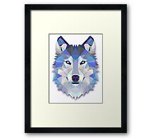 WOLF, THE CLEVER Framed Print