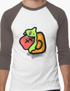 Snail dude. Men's Baseball ¾ T-Shirt