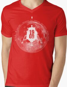 Apollo 11 Moon Landing Mens V-Neck T-Shirt