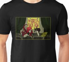 The Girls in the Back Row (Lettered Logo) Unisex T-Shirt