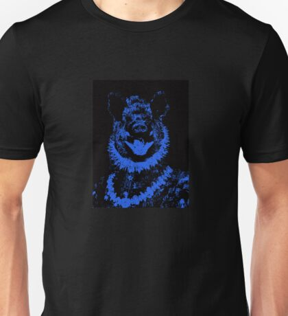 Duke of Boars- black and blue digital collage Unisex T-Shirt