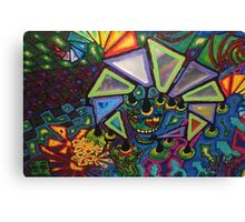 and with that he wandered into the hall closet Canvas Print