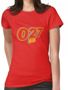 027 Wuhan Womens Fitted T-Shirt