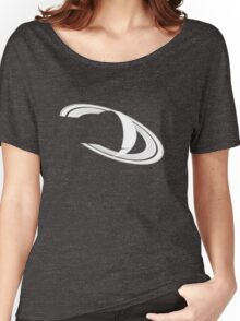 White Saturn Women's Relaxed Fit T-Shirt