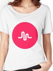 musically logo Women's Relaxed Fit T-Shirt