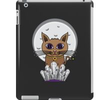 Cosmic Moon Cat - Purple iPad Case/Skin