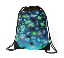Cool Night Sky Drawstring Bag