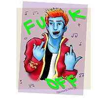 Holt Hyde - F*CK OFF! Photographic Print