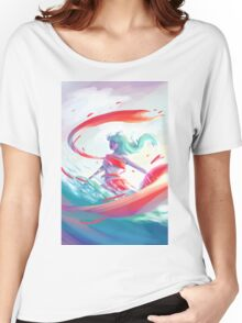 RIBBONS Women's Relaxed Fit T-Shirt