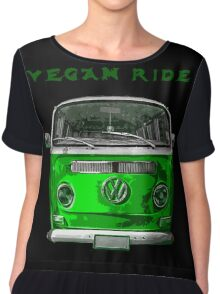 VW Vegan ride Chiffon Top