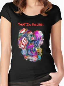 Today I'm Feeling (2) Women's Fitted Scoop T-Shirt