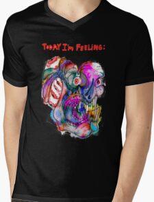 Today I'm Feeling (2) Mens V-Neck T-Shirt