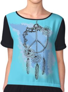 Dream of peace Chiffon Top