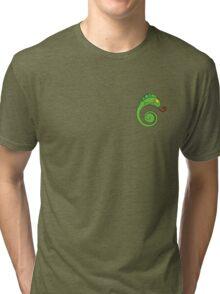 Cute chameleon Tri-blend T-Shirt