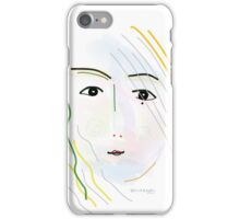 Soft painting 054 iPhone Case/Skin