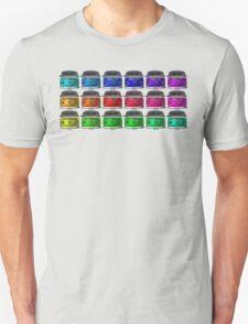 MULTI COLORS VW Combi Unisex T-Shirt