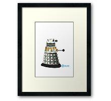 Dalek Big dot Framed Print