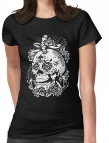 Sugar Skull of Death Womens Fitted T-Shirt