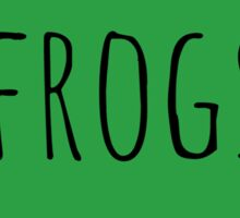Frog Love Sticker
