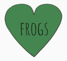 Frog Love One Piece - Short Sleeve
