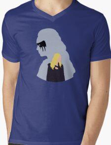 Clexa - The 100 -  Minimalist Mens V-Neck T-Shirt