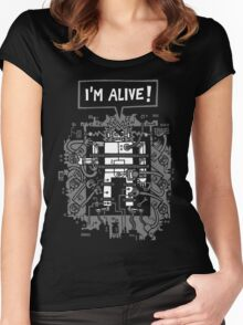 Alive Women's Fitted Scoop T-Shirt