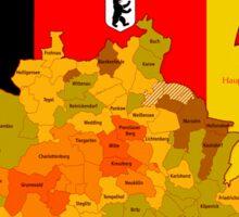 BERLIN - Deutschland - Hauptstadt  Sticker