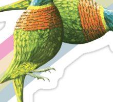 Rainbow lorikeet of Australia 5 Sticker