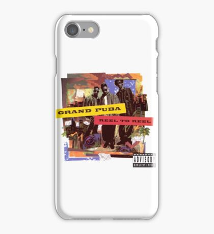 Grand Puba - Reel to Reel iPhone Case/Skin