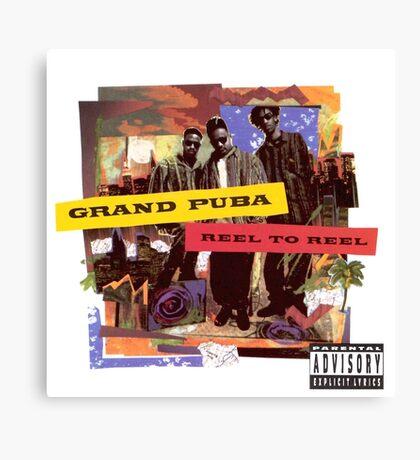 Grand Puba - Reel to Reel Canvas Print
