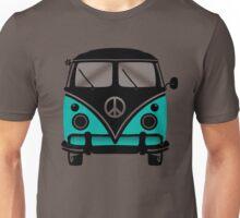 Hippie Van Blue Unisex T-Shirt