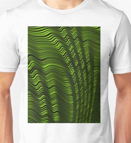 Folded Green Unisex T-Shirt