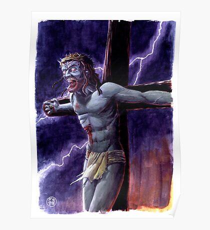 Zombie Jesus Christ Poster