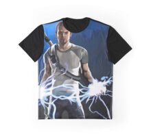 Infamous Good Cole Mcgrath painting. Graphic T-Shirt