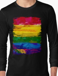 abstract pride Long Sleeve T-Shirt
