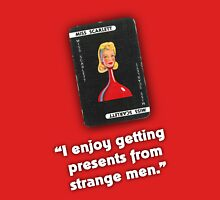 Clue - Miss Scarlett Strange Men Unisex T-Shirt