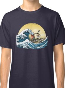 Going Merry by Hokusai Classic T-Shirt