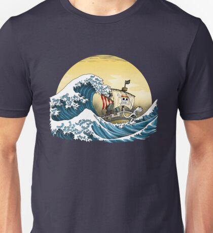 Going Merry by Hokusai T-Shirt