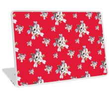 White Wildflower Laptop Skin