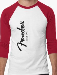 FENDER GUITARS Men's Baseball ¾ T-Shirt