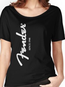 FENDER T SHIRT Women's Relaxed Fit T-Shirt