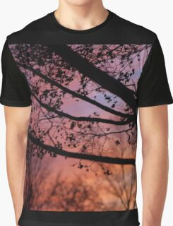 Sunset in the Maple Tree Graphic T-Shirt