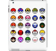 Pixel Pokéballs iPad Case/Skin