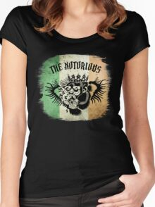 McGregor Tat - Tri Colour Women's Fitted Scoop T-Shirt