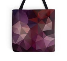 Abstract mosaic background of triangles polygonal  Tote Bag