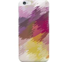 Abstract colorful bright background with brush strokes texture iPhone Case/Skin